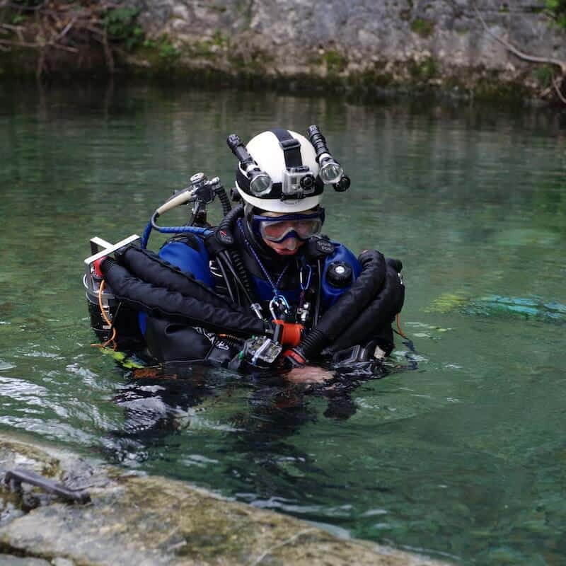 La plongée souterraine : interview avec Hervé Cordier